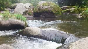 řeka Oslava bouří