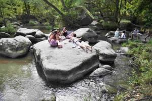 Relax na kamenech